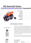 VXE Valves SUBMITTAL Data Sheet